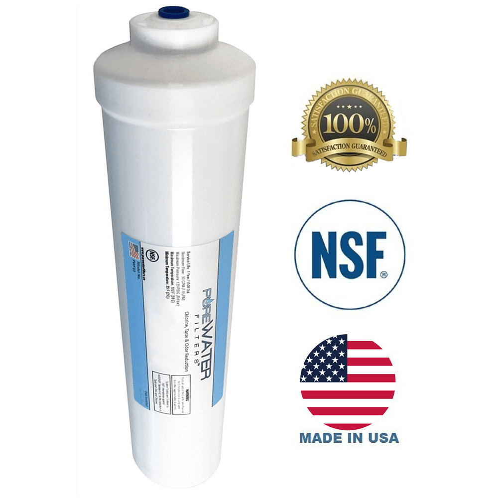Inline water filter for rv flowpur maxvoc975rv carbon for Garden water filter