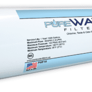 Inline Water Filter For Refrigerators, Ice Makers, Coffee Makers, Water Fountains, Water Coolers, Sink Faucets by PureWater Filters PWF10