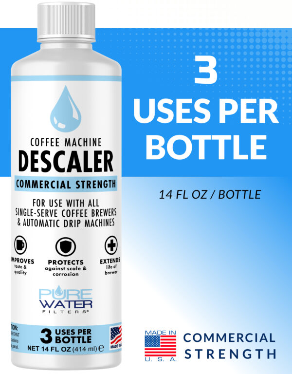 descaling solution for coffee makers